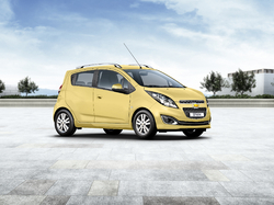 Chevrolet Spark er mest seldi smábíllinn hér á landi.