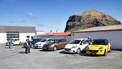 Velheppnuð Opel og Chevrolet bílasýning