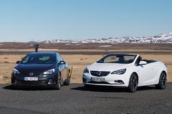 Opel Astra OPC og Cascada