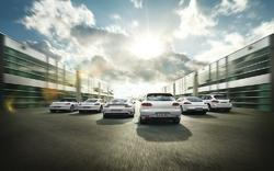 Þrenna hjá Porsche.