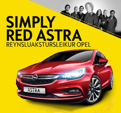 Reynsluakstursleikur Opel