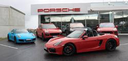 Porsche Roadshow sportbílarnir