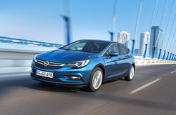 Opel Astra var valinn Bíll ársins 2016