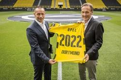 Nú á dögunum var tilkynnt um framlengingu á samstarfi<br> milli Opel og Borussia Dortmund til næstu fimm ára.