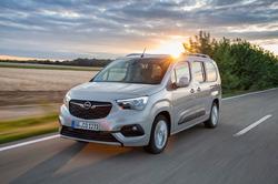 Nýr Opel Combo er sendibíll ársins.