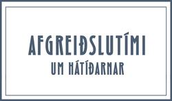 Afgreidslutimi Bílabúðar Benna