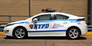 Lögreglan í New York velur Chevrolet Volt