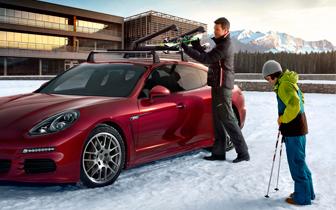 Vetrardekk- Porsche Panamera