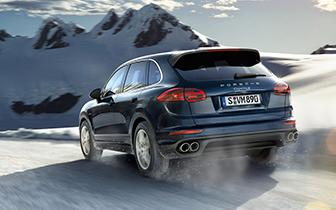 Porsche-Cayenne-Snow-litil vefmynd