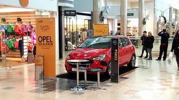 Jólaleikur Opel í Kringlunni