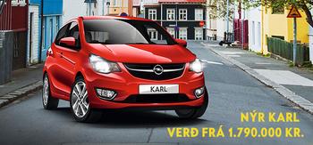 Nýr Opel Karl