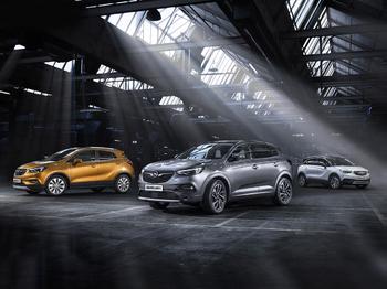 Aktiv-línan frá Opel - Grandland X , Crossland X og Mokka X