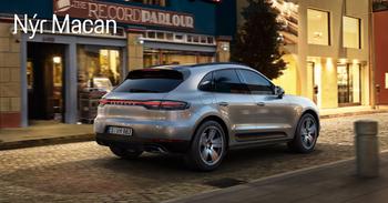 Nýr Porsche Macan